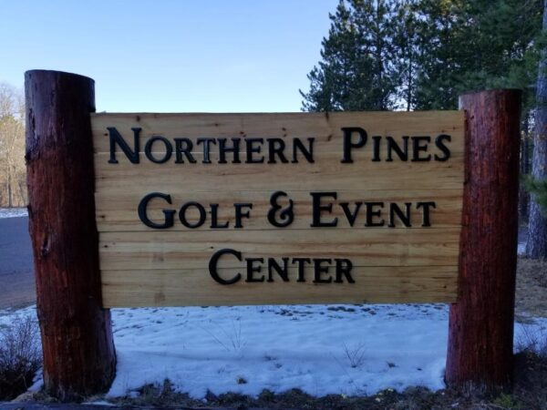 Northern Pines Golf & Event Center Sign